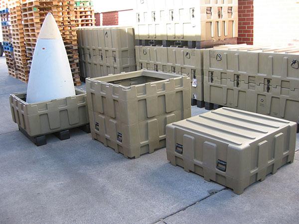 Pelican custom military cases trimcast