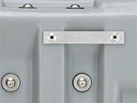 Pelican case lid hanger option