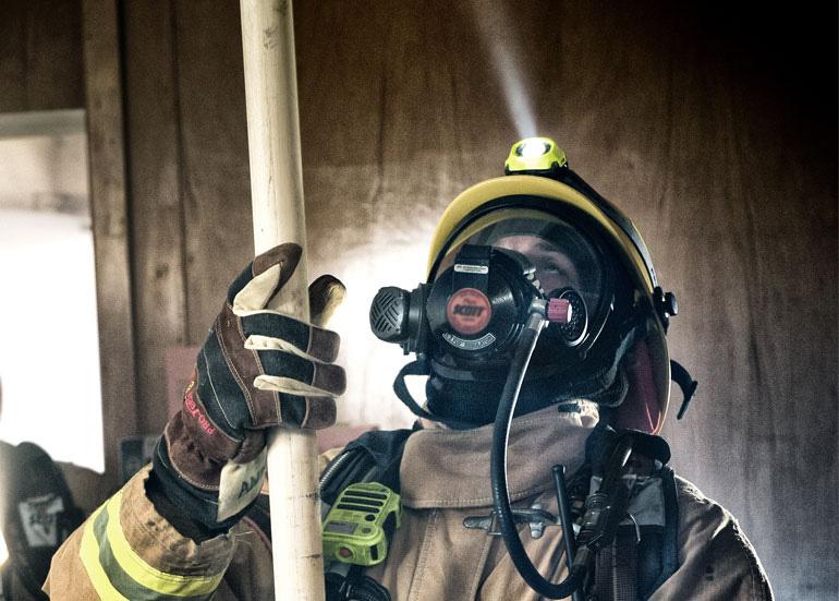 peli firefighter fire safety headlamps
