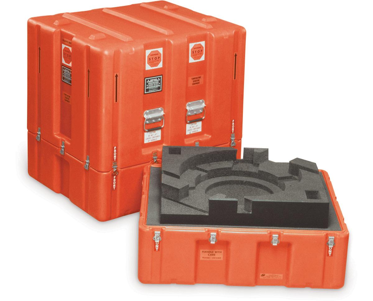 Peli centrifuge custom medical case