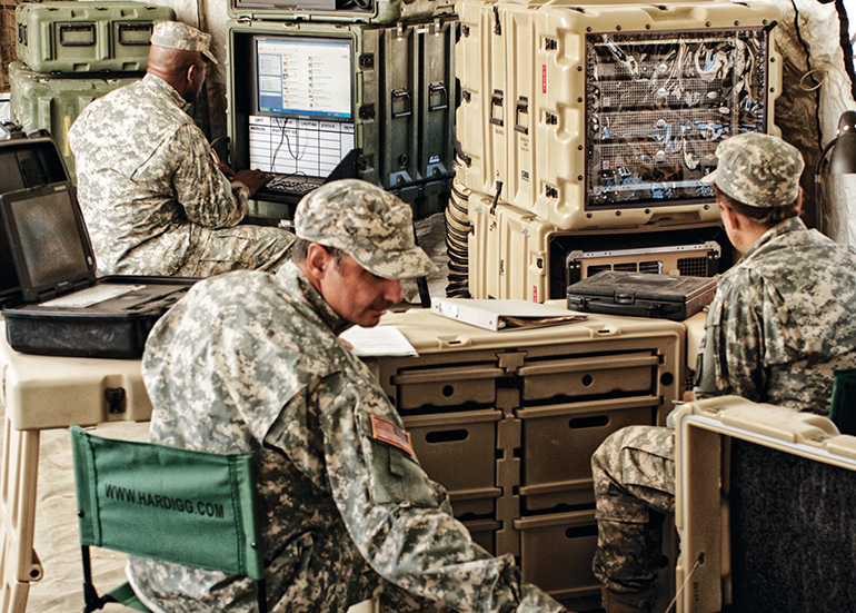 pelican mobile military medical office cases
