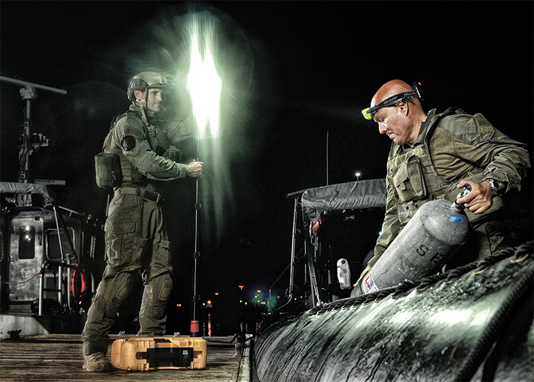 pelican rals military lights remote area led