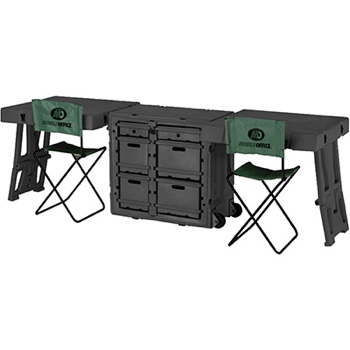 mobile military police field desk