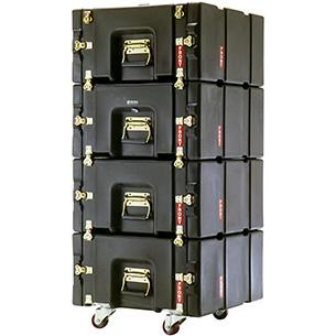 pelican prorack light duty rack mount case