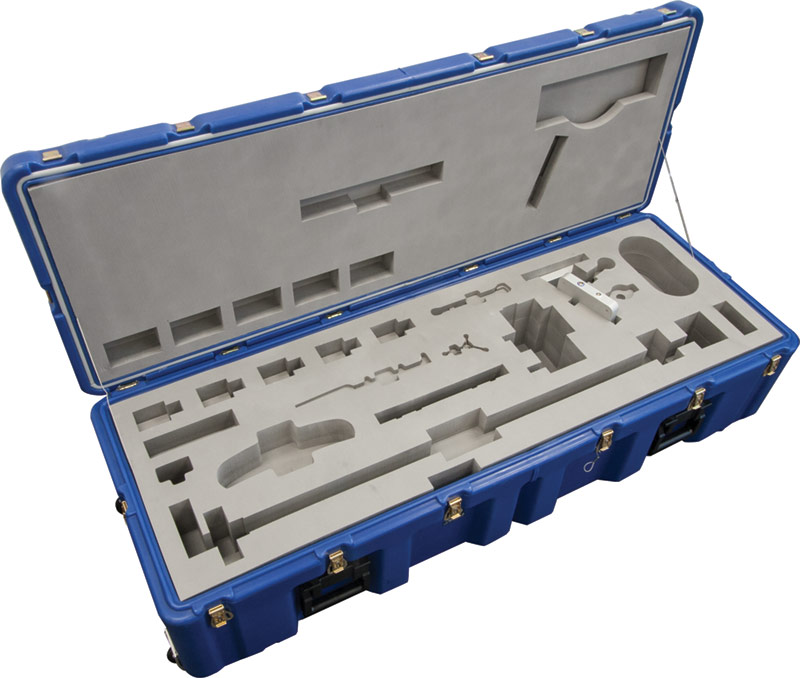 pelican custom foam heavy duty case