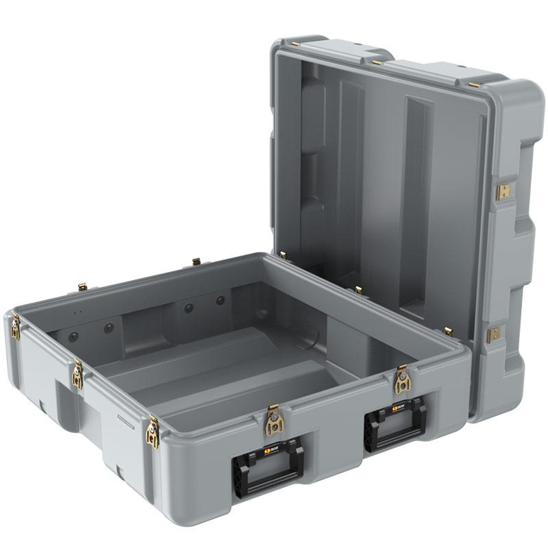 pelican open single lid heavy duty container