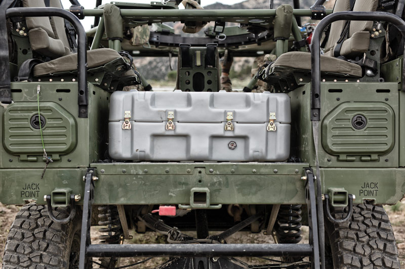 pelican shipping container single lid case