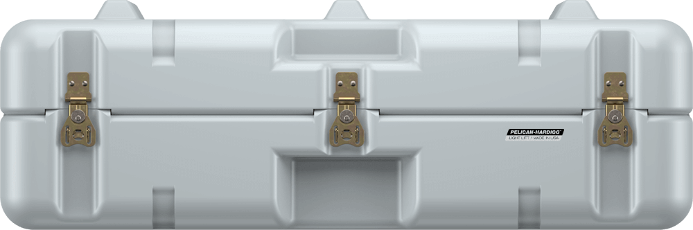 pelican single lid lightweight grey case