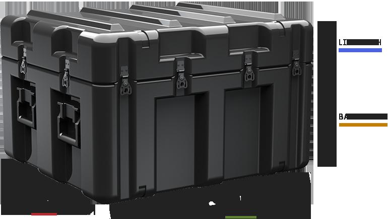 pelican single lid case dimensionses cases
